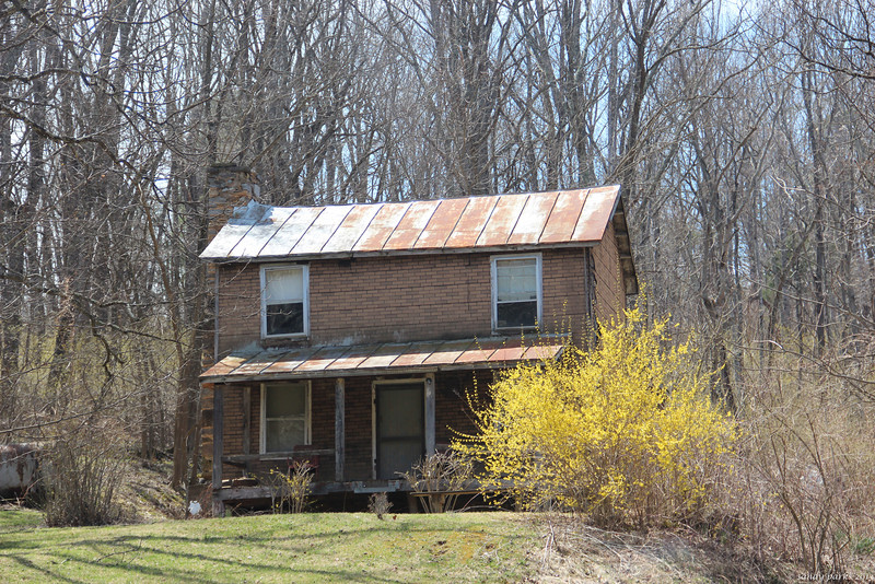 Old house, somewhere in Rockbridge County. I think