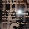 My favorite quotation/exhibit, Memorial de Caen, Normandy.