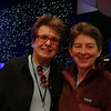 Patti gets to meet one of her childhood idols, Billie Jean king, before the evening show.