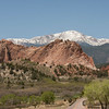 Start of our trip through the Garden of the Gods