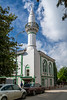 The Sinan Doan Mosque in the Black Sea port city of Sinop, Turkey.