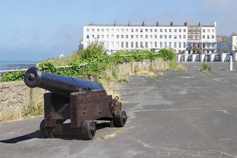 Canon at Fort Promenade Margate Kent
