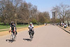 Bicyclists at Hyde Park London