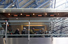 Champagne bar at St Pancras International Railway Station London