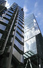 Lloyds Buidling and The Leadenhall Building in the City of London