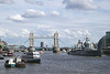 Tower Bridge and HMS Belfast London