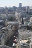 Aerial view of Ludgate Hill and Fleet Street London