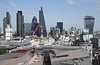 London financial district skyline 2014
