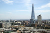 Aerial view of the Shard London
