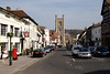 Hart Street and church Henley Oxfordshire