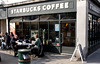 Starbucks Coffee shop at Henley Oxfordshire