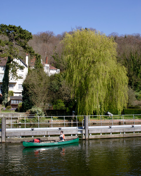 Canoes near Marsh Lock Henley