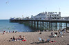Brighton Pier and Beach Sussex
