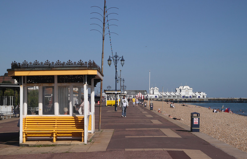 Promenade by Southsea Beach Portsmouth Hampshire
