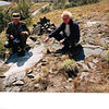 GPS in the early 90s. Michael Mayhew of NSF (right) on the Central Andes Project GPS campaign, 1993. (Photo/Jim Normandeau)