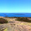 Acadia National Park, Panorama from Cadillas Mountain
