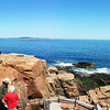 Acadia National Park, Panorama from Thunder Hole