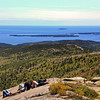 Acadia National Park, View on Frenchman Bay