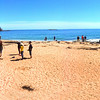 Acadia National Park, Sand Beach Panorama