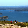 Acadia National Park, Cadillac Mountain, Hikers