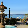 Bar Harbor Maine, Village Green Fountain