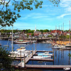 Camden Maine, View on Harbor