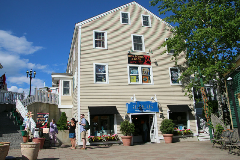 Kennbunkport Maine, Downtown Shopping & Sightseeing