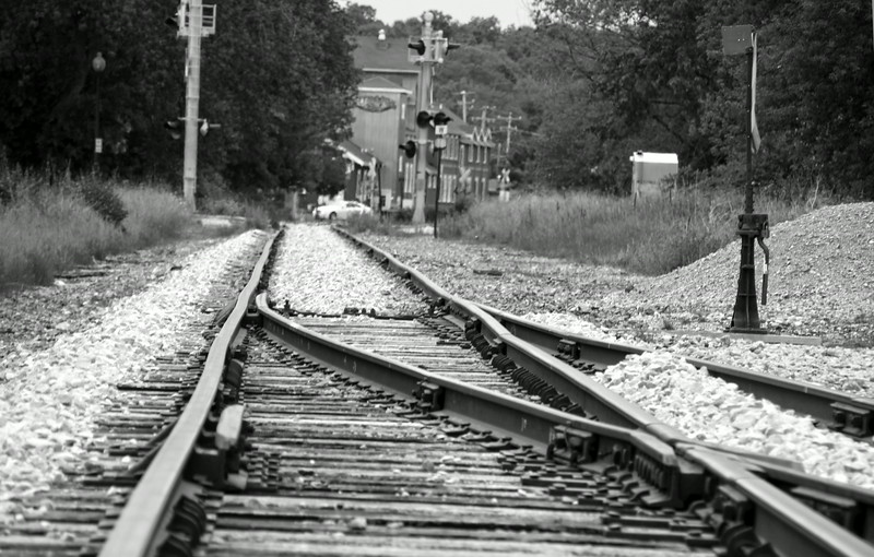 Elkhart Lake, Train Tracks