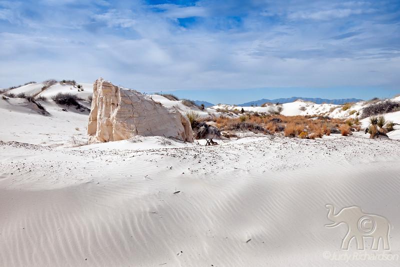 Desert Scenery at ~ White Sands National Monument