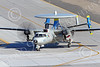 E-2USN 00273 A sharkmouth Grumman E-2C Hawkeye USN 165820 VAW-112 GOLDEN HAWKS USS John C  Stennis taxis at NAS Fallon 1-2015 military airplane picture by Peter J Mancus