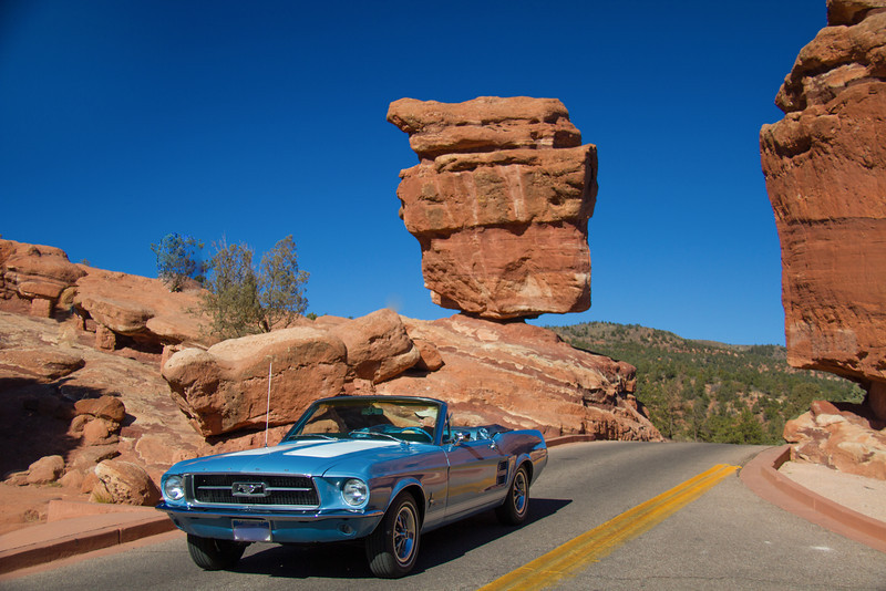 Cruisin' Past Balancing Rock