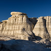 Formations near Bisti Badlands