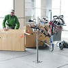 Yann spent four hours reassembling our bicycles at the convenient San Francisco Airport bicycle station