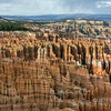 Late day at Inspiration Point, Bryce Canyon, Utah