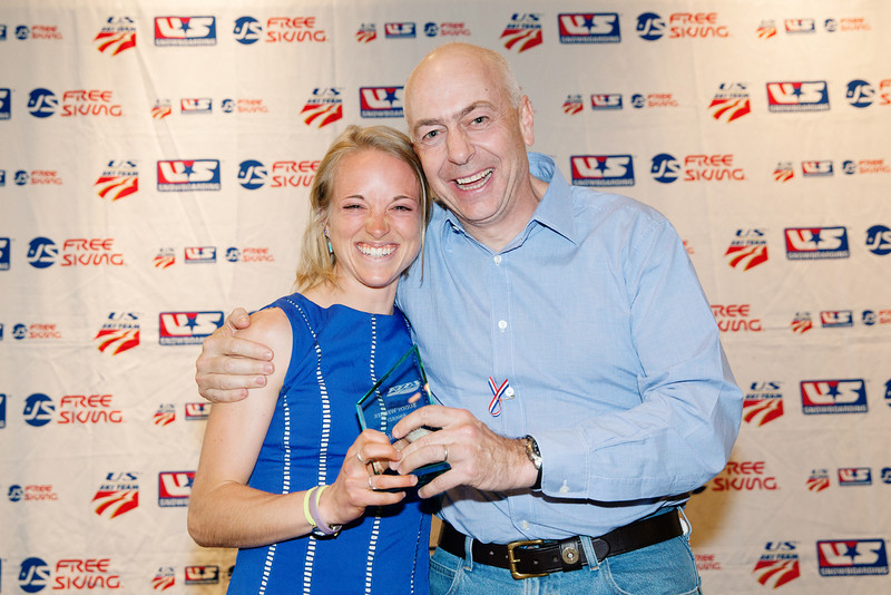 Liz Stephen - 2014 Buddy Werner Award (athlete sportsmanship)<br /> 2014 USSA Congress: Chairman's Awards Dinner - Park City, UT<br /> May 16, 2014<br /> Photo: USSA