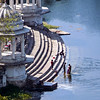 The Tank Ghat from Above, Udaipur