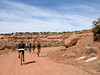 The Shafer trail starts out nearly flat. 2010/03/29 11:01:11 by Nathan Hoover