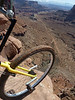 The trail is about to start descending steeply. 2010/03/29 11:08:27 by Nathan Hoover