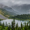 Cloudy Louise Lake
