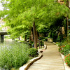10-15-12 The beginning of an adventure along the San Antonio  River Walk Hotel.