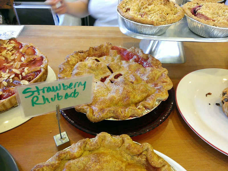 Mission Pie for their elusive and amazingly delicious strawberry rhubarb pie