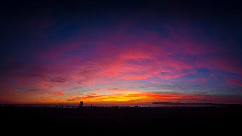 Cotton Candy Sunset at Coronado 2
