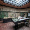 In Control - The heart of a former power plant;  The old control room.