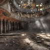 Holy Light - Lightrays pierce the dust in this amazing abandoned Chapel