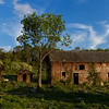 Abandoned barn with out buildings