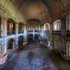 Di Penates - a massive arena-like church left in decay.