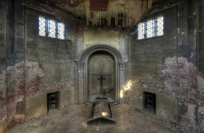 The Crematorium - Old crematorium in decay