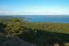 View of Penobscot Bay from peak of Bald Mountain (Lincolnville, ME)