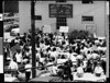 Students attempting to take over AFROTC building at USC, 1970