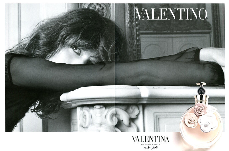 VALENTINO Valentina 2012 United Arab Emirates spread 'The new Eau de Parfum'